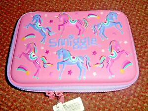 new SMIGGLE pink unicorn PENCIL CASE - BRAND NEW - GIRLS