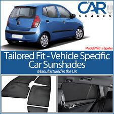 Hyundai i10 5dr (Con Spoiler) 07-12 tonos de Ventana de Coche UV Sol persianas Privacidad Vidrio