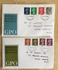 GB QEII FDC 1968 GPO NEW DEFINITIVES