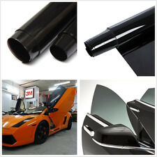50*300cm Black Car Off-Road Window Glass Tint Vinyl Anti-UV Protector Decor Film