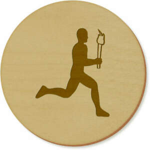 'Olympic Torch Runner' Coaster Sets / Placemats (CR024456)