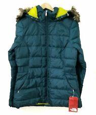 NWT The North Face Women's W Gotham Jacket sz Large Deep teal blue cx66n4 M-L
