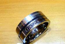 Fossil Stainless Steel Fine Rings