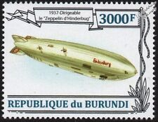 Luftschiff Zeppelin LZ-129 HINDENBURG Airship Aircraft Stamp