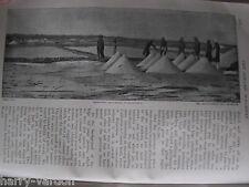 Sinking USS Merrimac Spanish–American War Old Antique Article 1899