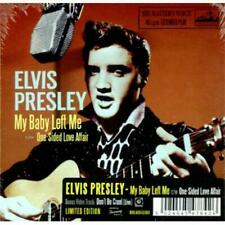 ELVIS 10`` LP/CD MY BABY LEFT ME /ONE SIDED LOVE AFFAIR