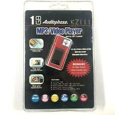 Audiophase KZ111 NIB MP3/WMA Player Digital Voice Recorder USB Flashdrive Red