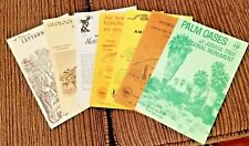 1970s Joshua Tree Monument 7  Brochures National Park Service Twentynine Palms