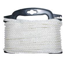 """Attwood Marine 117553-7 Braided Nylon Rope 3/16"""" X 100' White"""