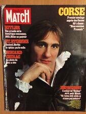 Paris Match 21/01/83 Depardieu Marylin Hallyday Cardinale Hitler Forget Corse