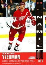 1993-94 Score Dynamic Duos American #9 Steve Yzerman, Sergei Fedorov