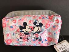 Disney LeSportsac Garden of Love Mickey Minnie Rectangular Cosmetic Bag MSRP $31