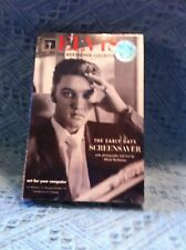 """NOS 1997 GALLERY SCREENSAVERS ELVIS THE WERTHEIMER COLLECITON """"THE EARLY DAYS"""""""