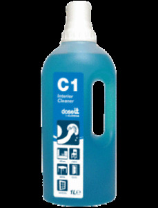 Clover Dose IT C1 Interior Cleaner Surface (8x1ltr) Cleaning Supplies - 381