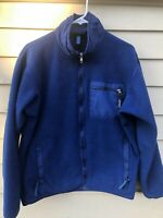 Vintage Patagonia Retro X Deep Pile Fleece Jacket Sz M Mens BLUE Color Sherpa