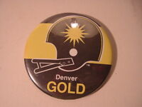 1982 Denver Gold USFL Football Pinbacks