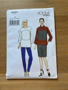 New Uncut VOGUE V9064 Misses Top Skirt & Pants Pattern A5 Size 6 - 14