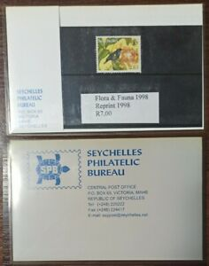 3125 - Seychelles - 1998 - flora and fauna - 1 stamp in the booklet - MNH