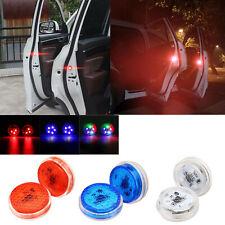 2Pcs universal puerta de automóvil LED de luces de apertura Lámpara de Advertencia Luz de Señal con seguridad RC