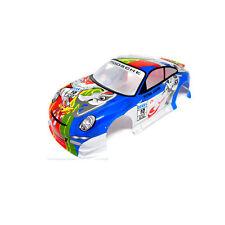 Radio Control RC Car 1/10 Porsche 911 Turbo Body Shell Blue 190mm S024Blue