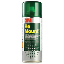 2 botes spray 3M Remount aerosol 400 ml