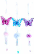 Kids Butterfly Mobile with Wind Chime (RRP $16.95ea)
