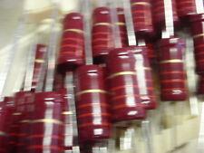 SELTEN! HOCHLAST WIDERSTAND 2,2K Ohm  2W  KOHLESCHICHT! NOS  D8x18mm   5x  24229