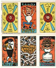 PEE WEE HERMAN 1988 (#3) FOLDIE Activity Card