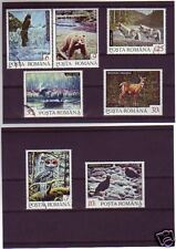 1702++ROUMANIE   SERIE TIMBRES  ANIMAUX