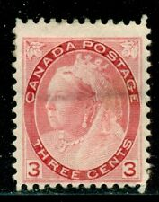 CANADA 78 SG156 MH 1898 3c car QVIC Numeral Issue Cat$90