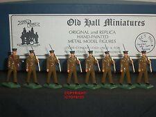 Old Hall Miniatures Kings proprio yorks FANTERIA LEGGERA Marching giocattolo soldato Set