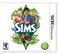 The Sims 3 [Nintendo 3DS, NTSC, Real Life Simulation] BRAND NEW