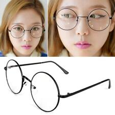 Durable Costume Harry Potter Glasses Round Metal Frame Clear Lens Wizard Glasses
