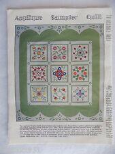 Applique Sampler Quilt Patterns 10 Styles Jose Royer 1979 Leman Publications