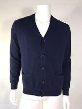 NWT Polo Ralph Lauren Man Classic Cardigan Sweater Knit Hunter Navy $ 185 SZ XL