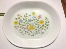 Corning Corelle Spring Meadow Serving Platter 1980 Vintage 12""