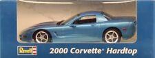 Revell 1:25 2000 Corvette Hardtop Chevrolet Light Blue Built Model #0916