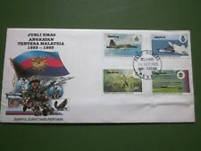 Malaysia FDC Commemorative Postage Stamps to mark 50 yrs Malaysian Armed Forces