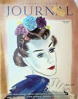 Ladies Home Journal March 1937 Art Deco Polio Faith Baldwin Booth Tarkington