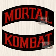 Mortal Kombat Banners Embroidered Big Patch for Back Scorpion MK9 Sub-zero PS