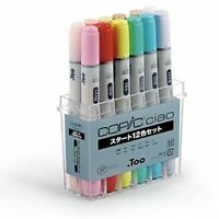 Too Copic Chao start 12 color set w/Tracking form   NEW