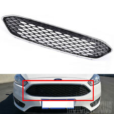 Front Bumper Grille Mesh Honeycomb Radiator Grill Cover For 2015 2016 Ford Focus