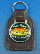 WESTWOOD CHEV OLDS MISSISSAUGA KEY CHAIN RING FOB CAR TRUCK DEALER ADVERTISING
