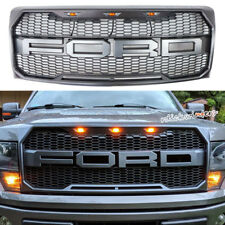 2009-2014 Ford F150 Front Grill Replacement Raptor Style Conversion W/F&R Letter