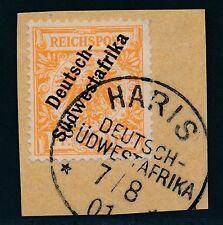 Ungeprüfte Briefstück Briefmarken aus dem deutschen Auslandspostamt & Kolonien (bis 1945)