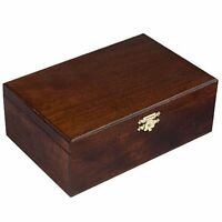 Wooden Storage Box For Standard Size Chess Pieces - Chessmen not included