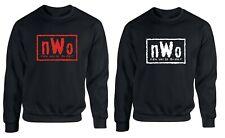 New World Order Sweatshirt NWO Wrestling Fan Gift Hulk MENS GYM Pullover Jumper