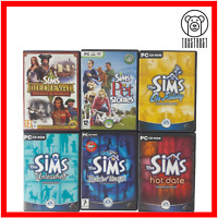 The Sims PC CD-ROM Bundle 6x Game Complete Collection Expansions Stories