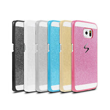 Luxury Bling Glitter Hard Back PC Case Cover For Samsung Galaxy S5 S6/S6 Edge