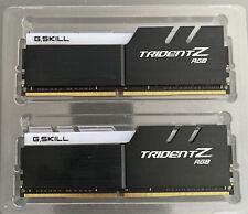 G.SKILL F4-3200C16D-32GTZRX TridentZ RGB 32GB 288 Pin  DDR4 SDRAM